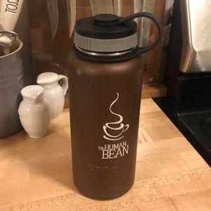 Human Bean Hydro Flask Brown 32 oz